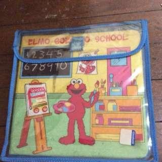Elmo Soft Play Felt book