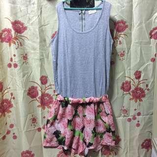 Floral Romper / Jump Shorts