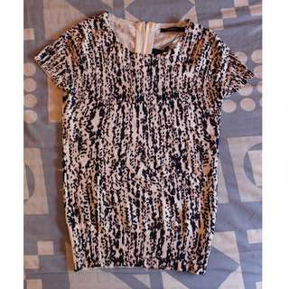 Portmans New Animal Print Top Size XS