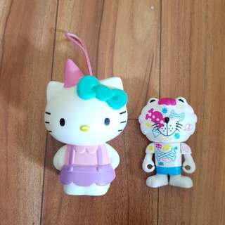 Figur hello kitty bonus jepitan