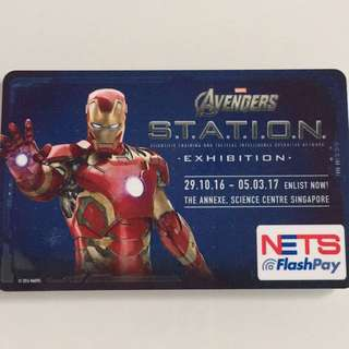 Limited Edition brand new Avengers Ironman Design Nets Flash Pay Card for $8.