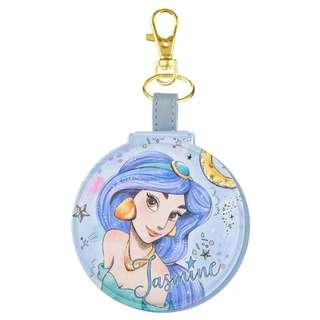Japan Disneystore Disney Store Jasmine Fur Kira Keychain with Mirror