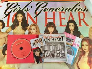 KPOP ALBUM - GIRLS GENERATION LION HEART (SNSD LION HEART)