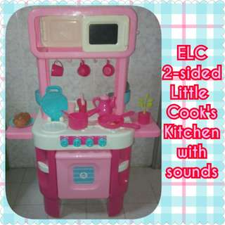 ELC Double-sided Kitchen with Sounds & Accessories