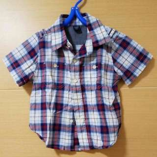 Baby Gap 18 To 24 Months checkers Shirt