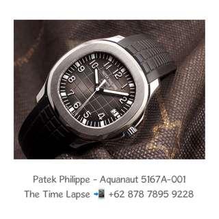 Patek Philippe - Aquanaut 5167A-001