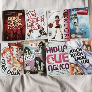 Novel Remaja Comedy