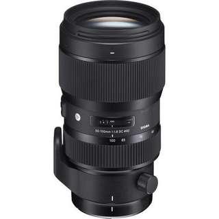 Sigma 50-100mm f/1.8 DC HSM Art Lens (Canon/Nikon/Sigma)