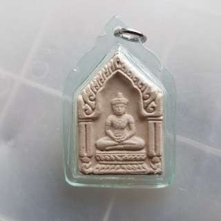 Khun paen (lp chuen powder added)Thai Amulet