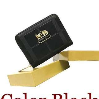 Coach wallet with box size : 5 inches