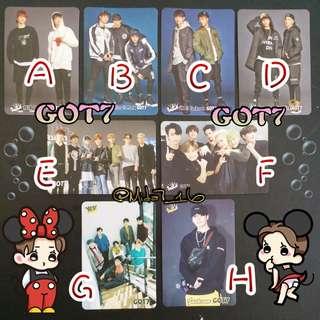 GOT7/Jackson - YES卡 ( 白卡 )