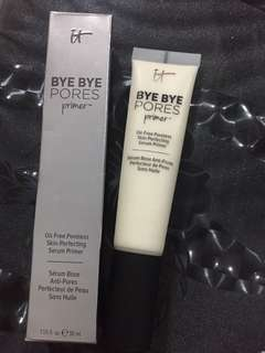 Full size Authentic It cosmetics Bye Bye Pores primer 30ml