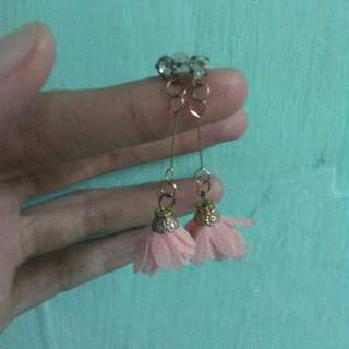 Flower Pink Earrings