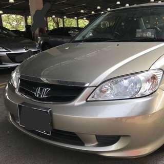 Honda Civic es5 1.6A 2007
