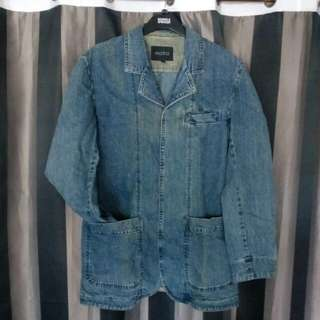 Original Moto Denim Coat **REPRICE #2**