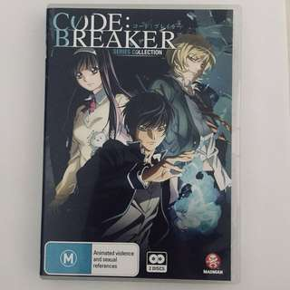 Code: Breaker Anime Series Collection