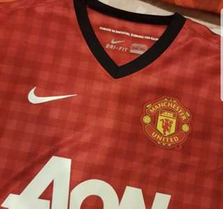 Manchester United Jersey 2012/2013 Authentic Home Kit