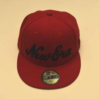 New Era Red Cap