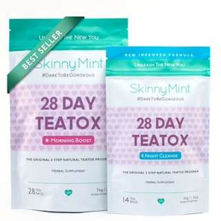 SKINNYMINT TEATOX (MORNING BOOST & NIGHT CLEANSE)