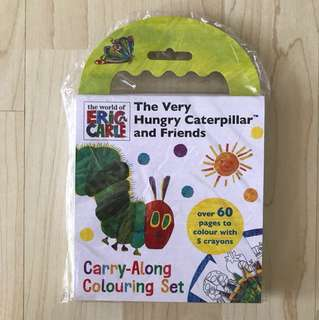 The Very Hungry Caterpillar and Friends Carry-Along Colouring Set