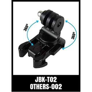 GP ROTATING J HOOK BUCKLE JBK-T02 Degree Rotary J-Hook Buckle Mount