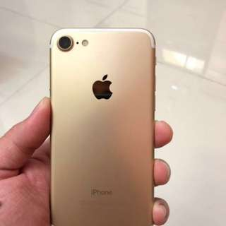Iphone 7 128Gb gold Second mulus