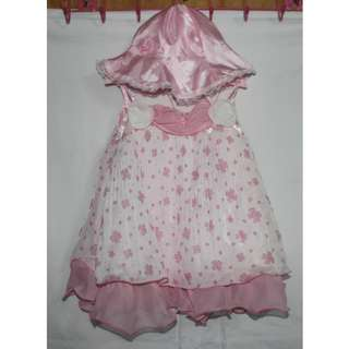 BABY BAPTISMAL GOWN/DRESS 6M