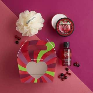 Frosted Berries Treat Box - Body Butter, Shower Gel, Bath Lily