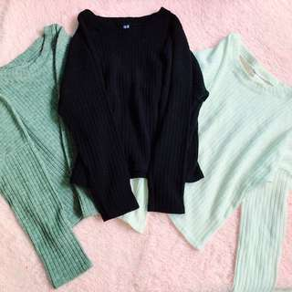 Knit Tops $15 Each