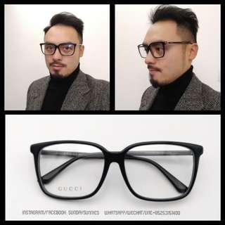 Gucci GG0019 sqyare Acetate Spectale 眼鏡