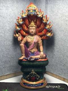 AJ Khun Pan Of Wat Kao Oor Final batch BE2549 Jatukam Bucha with full colors 30cm