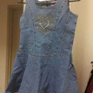 Disney Ori denim dress