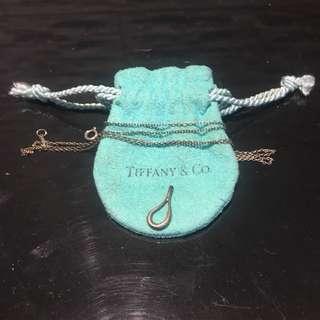 Tiffany & Co 淚滴項鍊