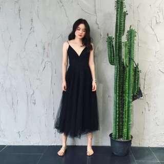 Black Swan Midi Dress