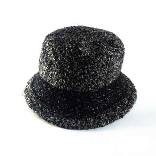 Woman Bucket Hat Woolen Tweed