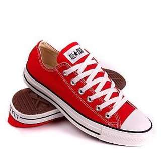 BRAND NEW! Red converse