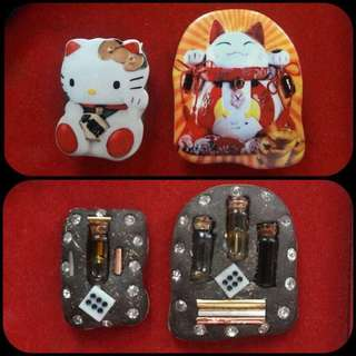 Lersi Gee Kong BE2561 Special Wealth Fetching Hello kitty & Cai Shen Mao!