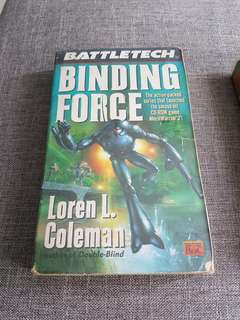 Battle Tech Binding Force