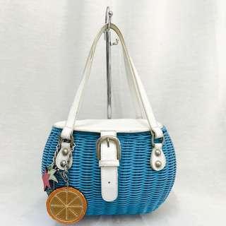 Rottan basket handbag