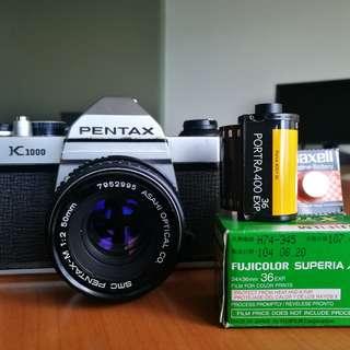 Film Camera - Pentax K1000