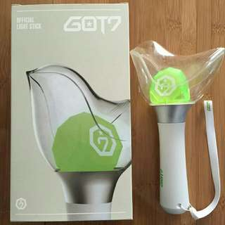 GOT7 Lightstick Fly Bird (ready stock postage rm5 to em wm)