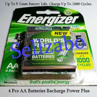 Recharge Batteries AA Energizer Sellzabo Battery