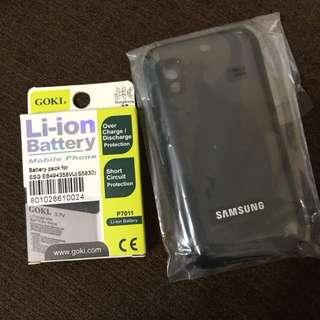 Samsung Galaxy Ace S5830 電池 (送手機殼)