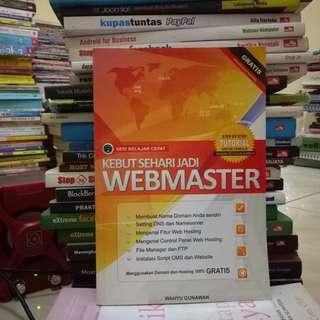 Kebut Sehari Jadi Webmaster