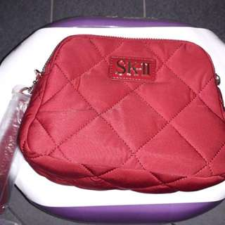 SK-II Cosmetic Red Pouch