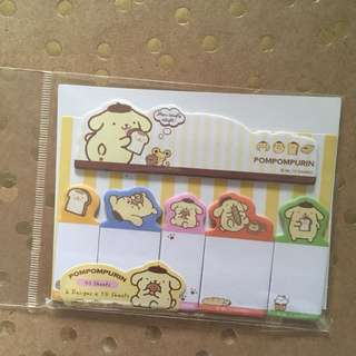 Sanrio Pompompurin Sticky Notes