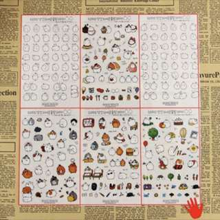 Planner Stickers (Korea Molang)