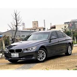 2014年出廠10月領牌 BMW F30 316I 星河灰