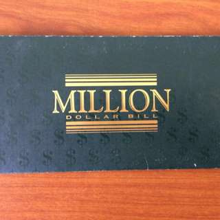 One Millions dollor bil