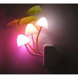 Lampu tidur berbentuk jamur Mushroom night light - hhm115